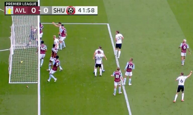 Premier League: «Μας συγχωρείτε, λάθος», είπε το Hawk-Eye για το γκολ που δεν μέτρησε στο Σέφινλντ!