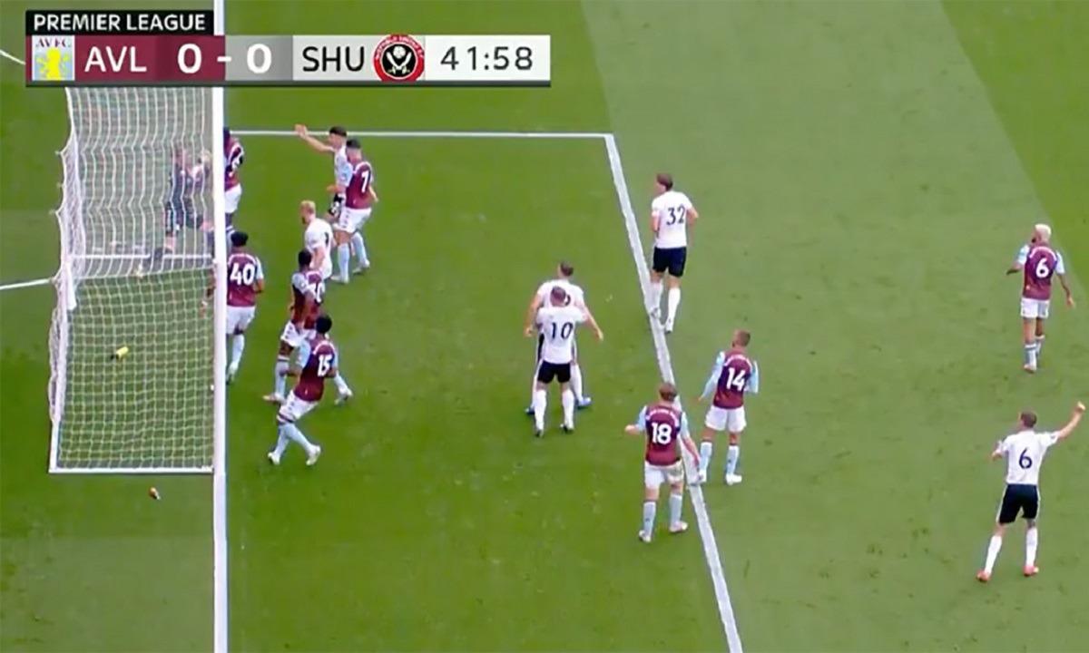 Premier League: «Μας συγχωρείτε, λάθος», είπε η Hawk-Eye για το γκολ που δεν μέτρησε στο Σέφινλντ!
