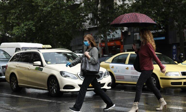 Καιρός – Αττική: Σφοδρή βροχόπτωση στην Αθήνα!