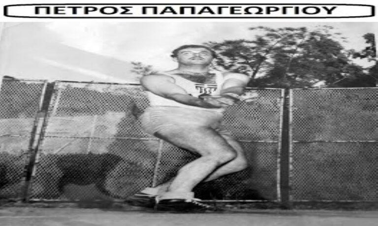 """""""Έφυγε"""" ο Πέτρος Παπαγεωργίου, θρηνεί ο Ελληνικός στίβος"""
