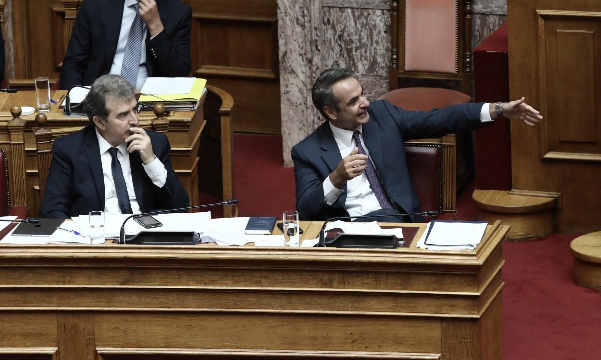 Χρυσοχοΐδης Μητσοτάκης