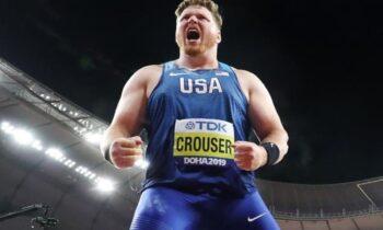 Ράιαν Κράουζερ: Παγκόσμιο ρεκόρ κλειστού στην σφαίρα μα 22.82!