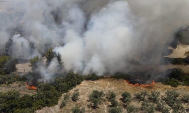 Φωτιά Κεχριές: Ενισχύονται οι πυροσβεστικές δυνάμεις, στην περιοχή ο Χαρδαλιάς