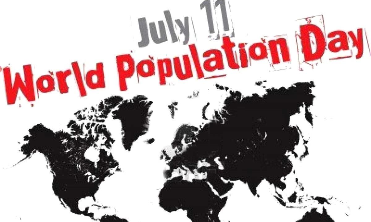 11 Ιουλίου: Παγκόσμια Ημέρα Πληθυσμού