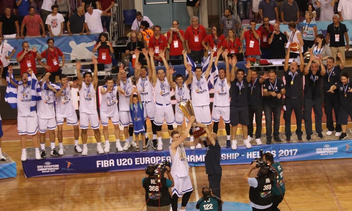 Σαν Σήμερα 23/7: Στην κορυφή της Ευρώπης η Εθνική Νέων Ανδρών. Στην κορυφή της Ευρώπης η Εθνική Νέων Ανδρών!