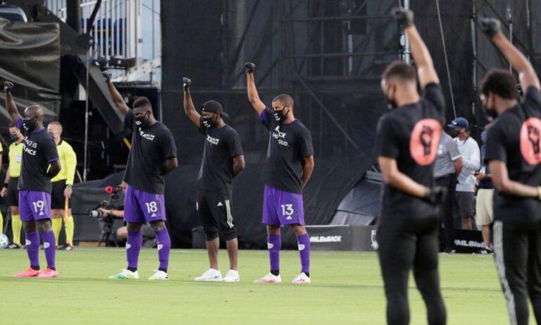 MLS: Επέστρεψε με ισχυρό μήνυμα κατά του ρατσισμού (vid)