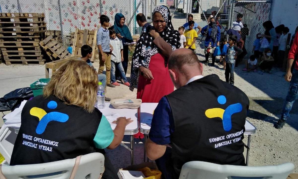 Μόρια: Πάνω από 2.000 παιδιά εμβολιάστηκαν στο ΚΥΤ