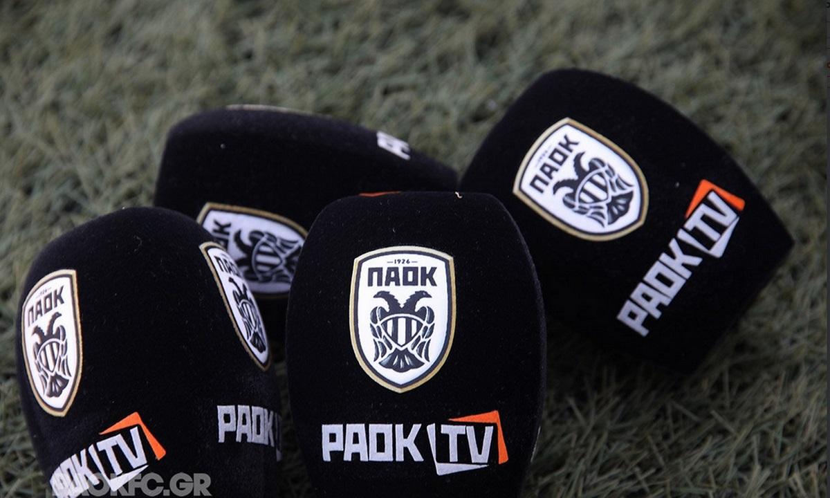 Αρωνιάδης: «Ετοιμάζεται και παρουσιάζεται σε λίγες ημέρες το νέο PAOK TV»