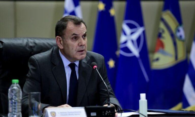 Παναγιωτόπουλος σε υπουργό Άμυνας των ΗΠΑ: «Είμαστε αποφασισμένοι»