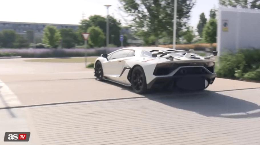 Εντέν Αζάρ Lamborghini