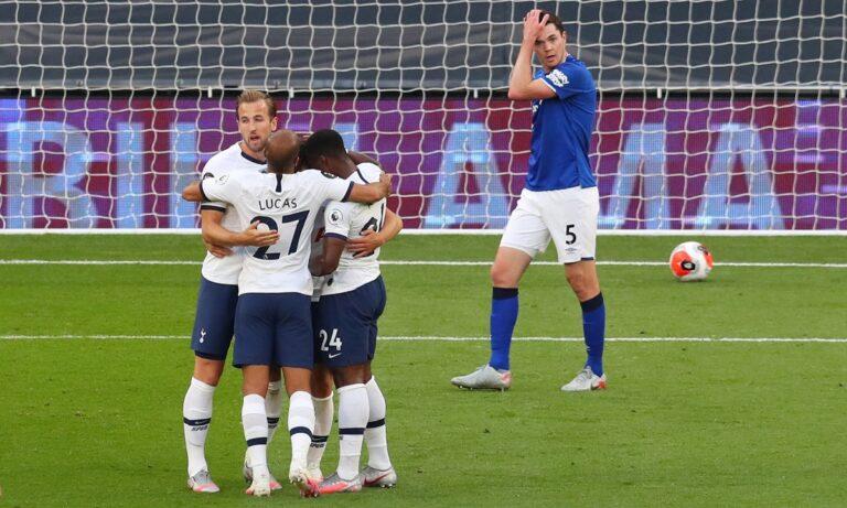 Τότεναμ – Έβερτον 1-0: Παραμένει στο κόλπο η ομάδα του Μουρίνιο