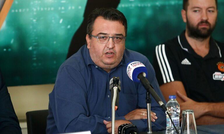 Τριαντόπουλος για Euroleague: «Από την πλευρά του Παναθηναϊκού δεν θα ακούσετε κάτι για την Euroleague»