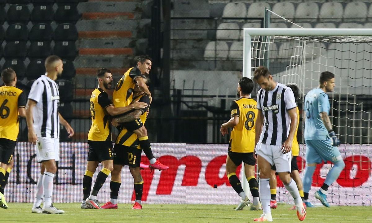 ΠΑΟΚ – ΑΕΚ: «Χρυσό» το γκολ του Λιβάγια για την ισοβαθμία!