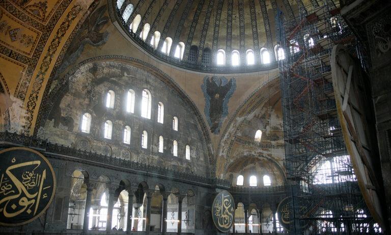 Αγία Σοφία: Διχασμένοι οι Τούρκοι (vid)