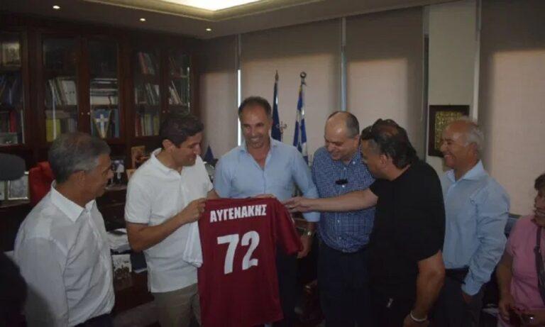 Αυγενάκης στη Λάρισα: 897.000 ευρώ για το Αλκαζάρ (vids)
