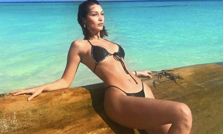 Μπέλα Χαντίντ: Topless στην πισίνα της, προκαλεί εγκεφαλικά (pics)