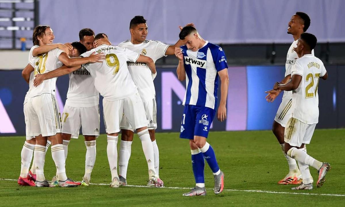 Ρεάλ Μαδρίτης – Αλαβές 2-0: «Αγκαλιά» με το πρωτάθλημα η Ρεάλ (vid)