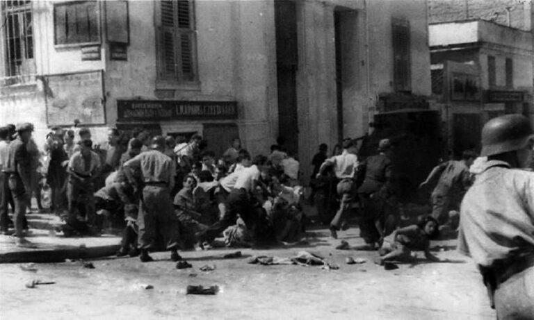 22 Ιουλίου 1943: Οι δρόμοι της Αθήνας βάφτηκαν με αίμα (vid)