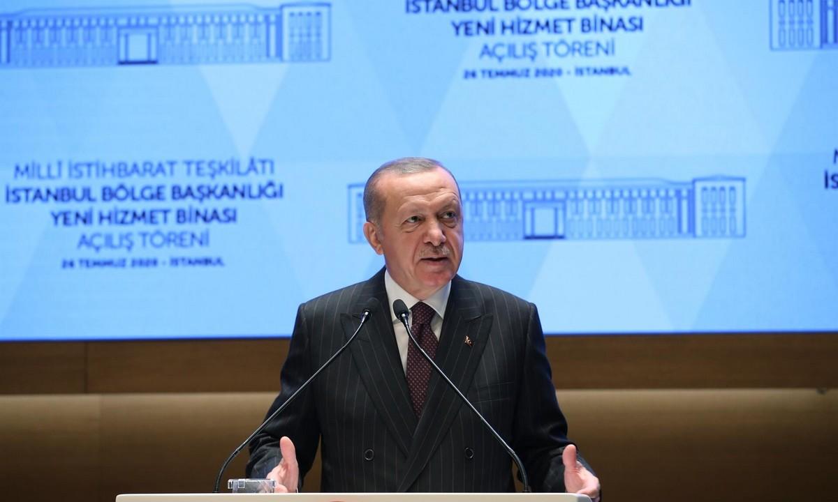 Ερντογάν: Προκαλεί ξανά! «Η Κωνσταντινούπολη είναι στα χέρια Μουσουλμάνων»