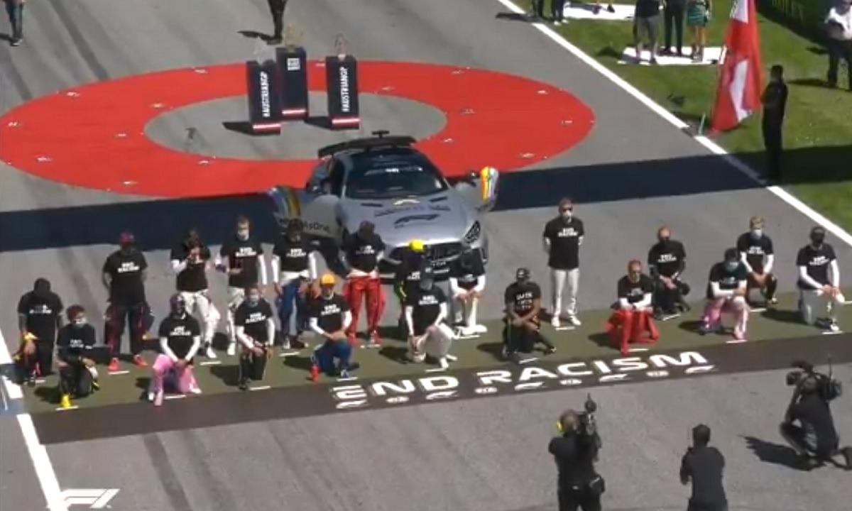 Η Formula 1 κόντρα στον ρατσισμό! (vid)