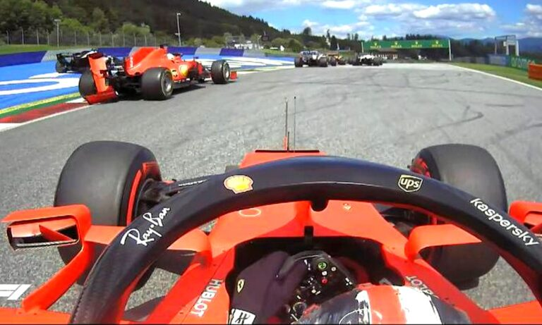 Χαμός στη Ferrari: Χτύπησαν μεταξύ τους Λεκλέρκ-Φέτελ και εγκατέλειψαν! (vid)