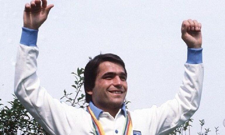 Ο Στέλιος Μυγιάκης κατακτά το χρυσό μετάλλιο στους Ολυμπιακούς Αγώνες της Μόσχας (pic)