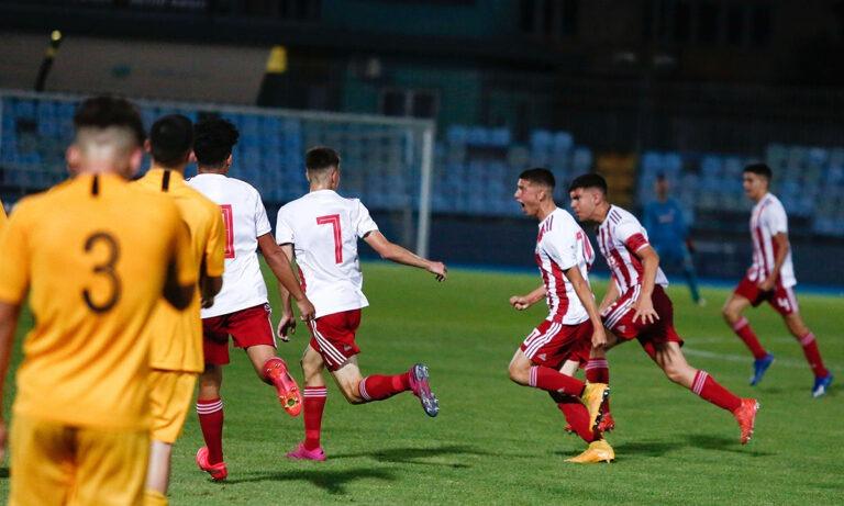 Ολυμπιακός Κ15 – Άρης Κ15 2-0: Στον τελικό οι «ερυθρόλευκοι»