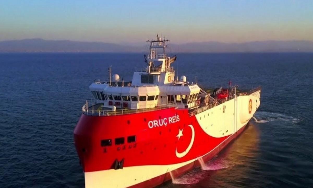 Τουρκική πρεσβεία: Το «Oruc Reis» άρχισε σεισμικές έρευνες