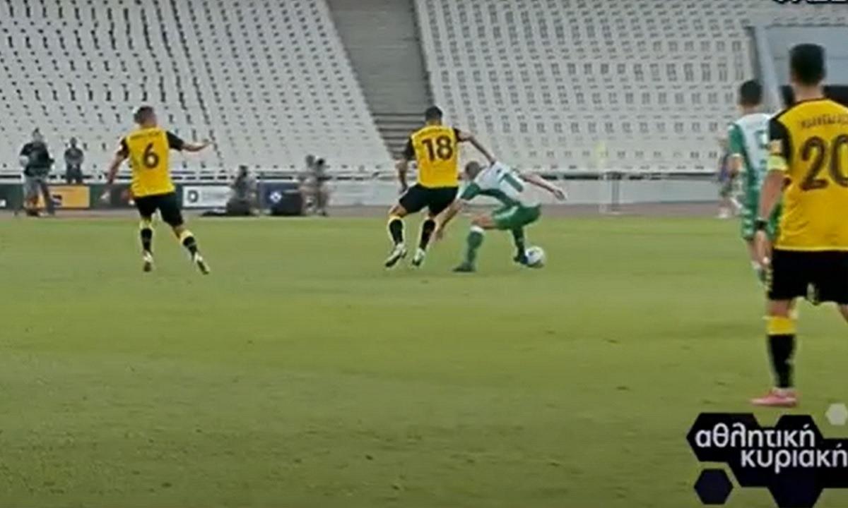 Βαρούχας για Παναθηναϊκός-ΑΕΚ: Φάουλ στον Κολοβέτσιο, άκυρο το γκολ (vid)