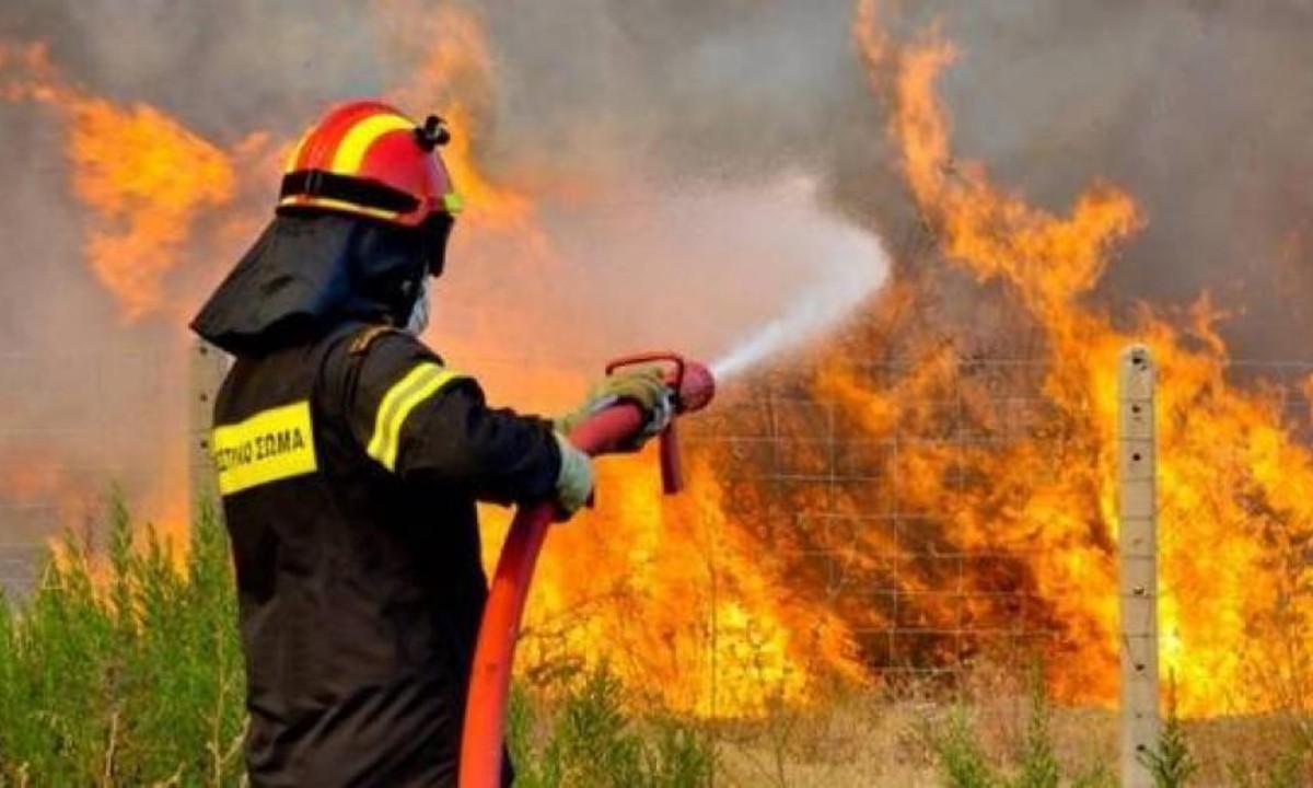 Πυροσβεστική: 62 πυρκαγιές σε μία ημέρα