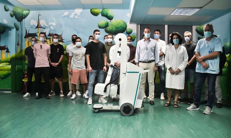 ΠΣΑΠ: Παράδοση ιατρικού εξοπλισμού στο Νοσοκομείο Παίδων