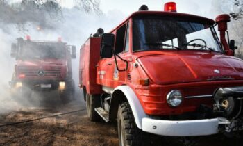 Ηλεία: Νέα φωτιά στα Ζαχαρέικα
