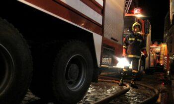 Ισχυρή καταιγίδα στη Θεσσαλονίκη - Επιχείρηση διάσωσης 4 πολιτών