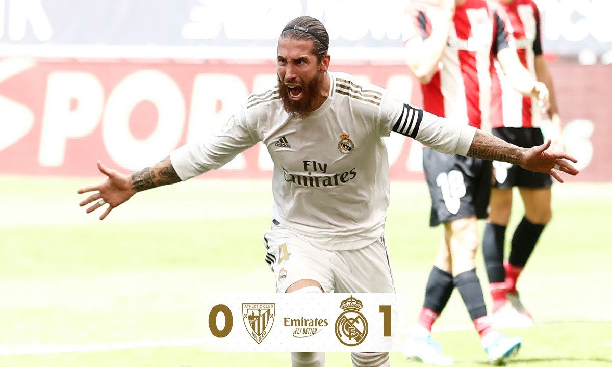 Αθλέτικ Μπιλμπάο – Ρεάλ Μαδρίτης 0-1: Πρόβα τίτλου! (vid). Δείτε πώς διαμορφώνεται η βαθμολογία της Primera Division