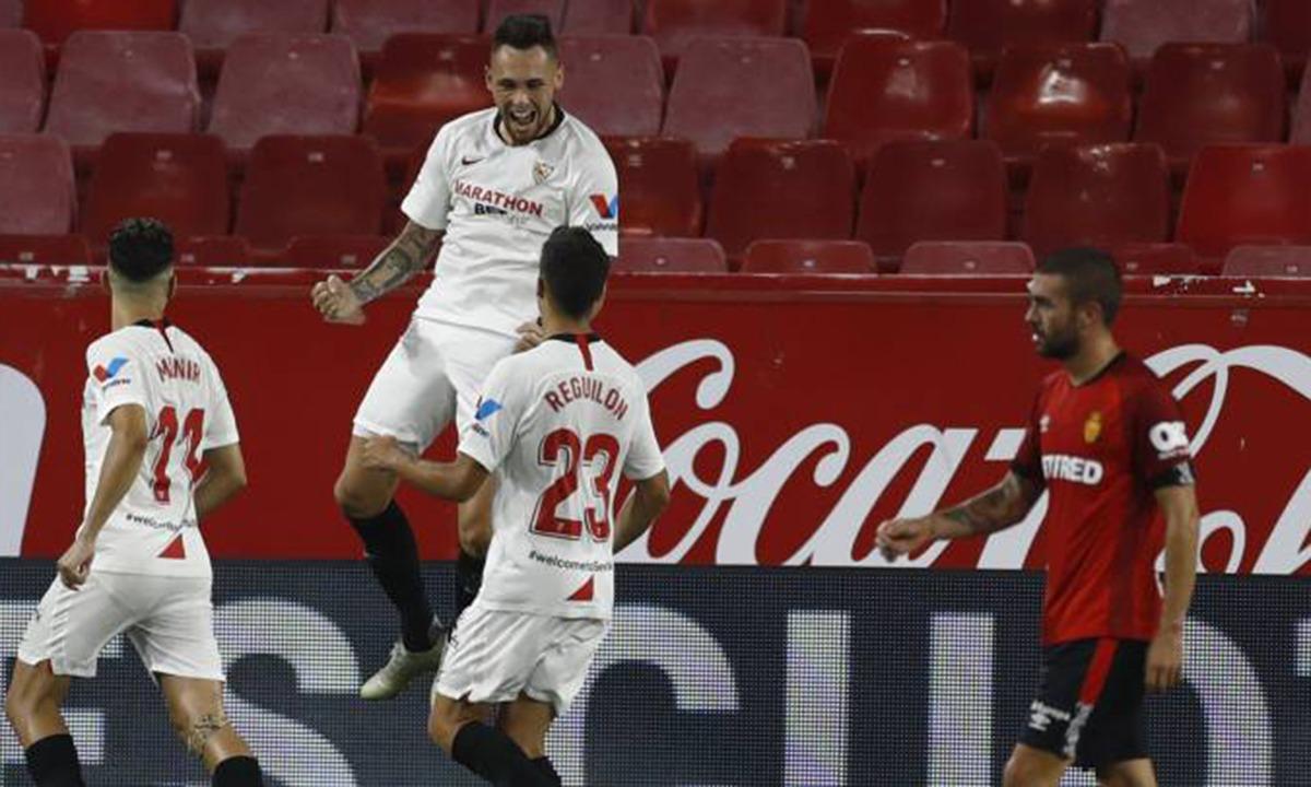 Σεβίλλη – Μαγιόρκα 2-0: «Αγκαλιά» με το Champions League! (vid)
