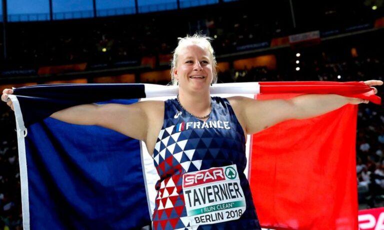 Αλεξάντρα Ταβερνιέρ: Νέο ρεκόρ Γαλλίας στην Σφυροβολία