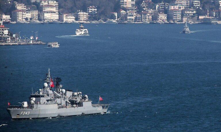 ΓΕΕΘΑ: «Αμετάβλητη η κατάσταση με τα τουρκικά πλοία»