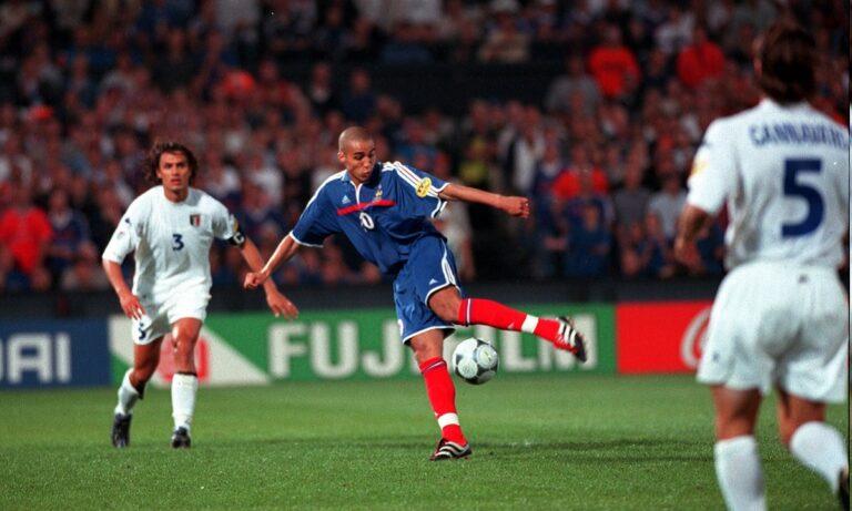Γαλλία: Όταν το «χρυσό» γκολ του Τρεζεγκέ την έφερε στην κορυφή της Ευρώπης (pic-vids)