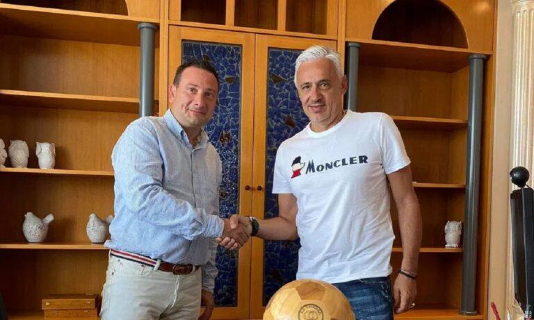 Τρίκαλα: Και επίσημα στον ΑΟΤ ο Χαραλαμπίδης