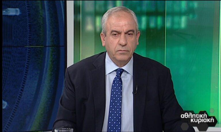 Βαρούχας: «Σωστό το πέναλτι υπέρ του ΠΑΟΚ»