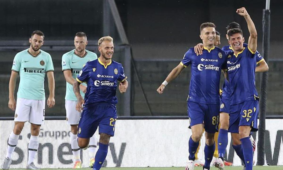 Βερόνα – Ίντερ 2-2: Έπεσε στην 4η θέση (vids)