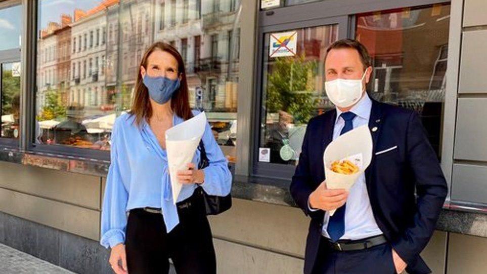 Βρυξέλλες: Τέσσερις πρωθυπουργοί έκαναν διάλειμμα για… τηγανητές πατάτες