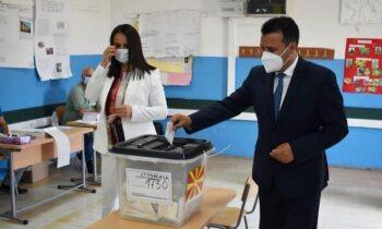 Σκόπια: Νικητής ο Ζάεφ στις εκλογές