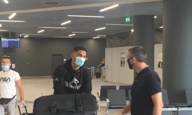 Ηρακλής: Έφτασε και ο Χάνλαν στην Θεσσαλονίκη
