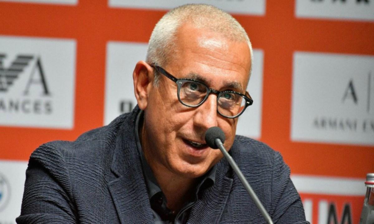 Σταυρόπουλος: «Αναζητήσαμε ηγέτες». Ο general manager της Αρμάνι Μιλάνο, Χρήστος Σταυρόπουλος, μίλησε στην παρουσίαση του Τζίτζι Ντατόμε για τη μεταγραφική φιλοσοφία της ομάδας.