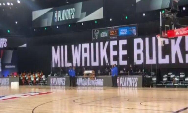 NBA: Οι παίκτες στο πλευρό των Μπακς! Λεμπρον: «Γ… τον» (pics)