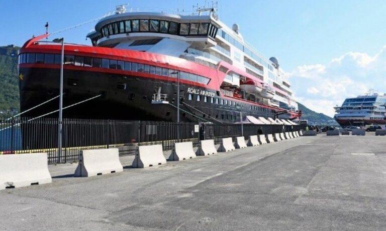 Νορβηγία: Θετικοί στον κορονοϊό 33 ναυτικοί σε κρουαζιερόπλοιο