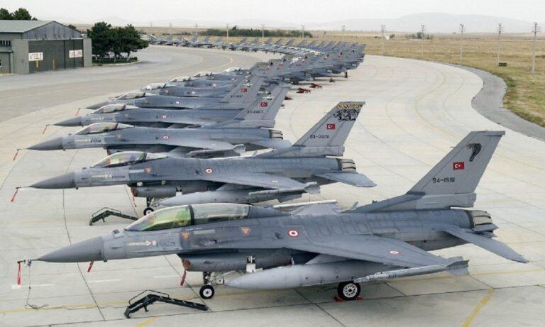 Oruc Reis: Με γερασμένους πιλότους πετούν τα τουρκικά F 16;