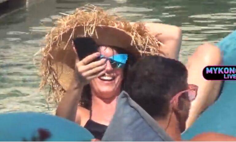 Mykonos Live TV 11/8: Η Τραϊάνα Ανανία αναστατώνει τη Μύκονο (vid)