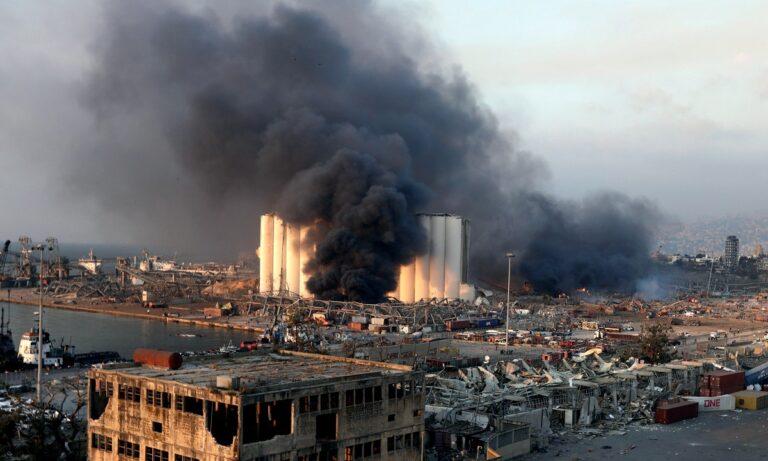 Λίβανος: Στους 154 οι νεκροί από την έκρηξη στο λιμάνι (vid)